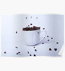 Cup of coffee, still life Poster
