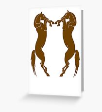 Dothraki Greeting Card
