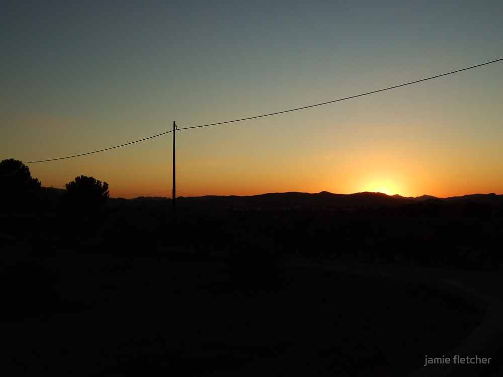 another spanish sunset  by jamie fletcher