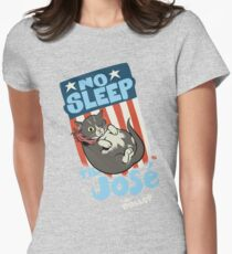 The DOLLOP- No Sleep Til José Womens Fitted T-Shirt