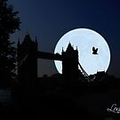 London Tower-Bridge by Derivatix
