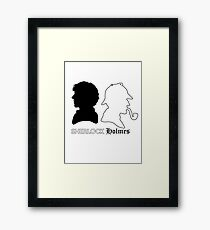 Sherlock vs. Holmes Framed Print