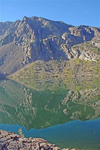 Ellery Lake Mirror by raptrlvr