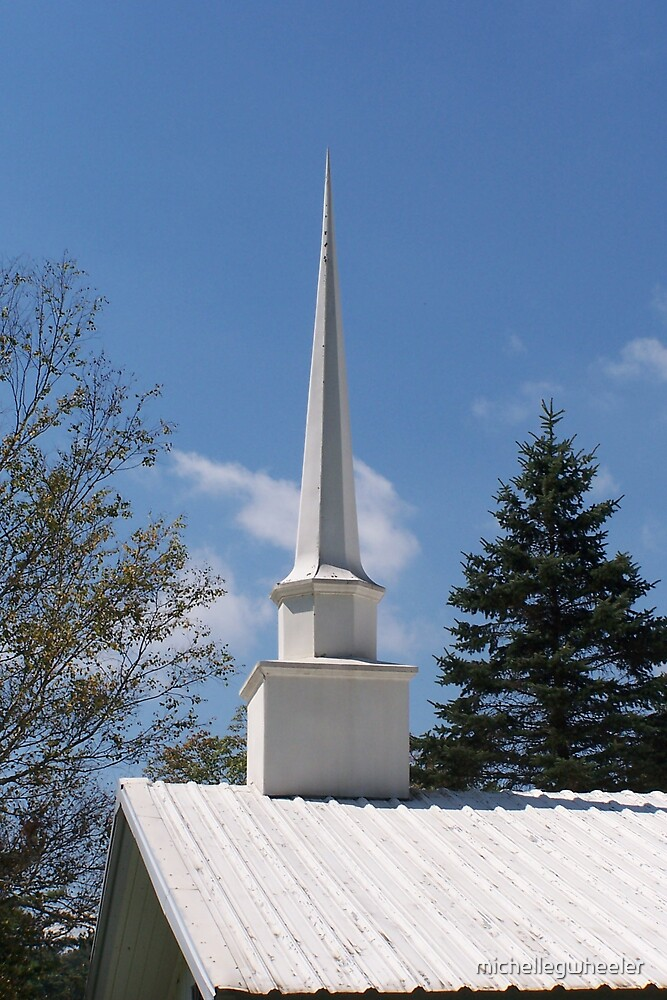 Mountain Steeples 1 by michellegwheeler