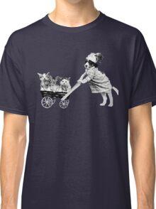 Vintage Kitten Stroller Classic T-Shirt