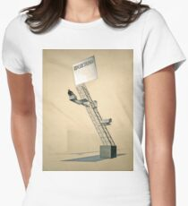 El Lissitzky - Lenin Tribune (1920) Womens Fitted T-Shirt