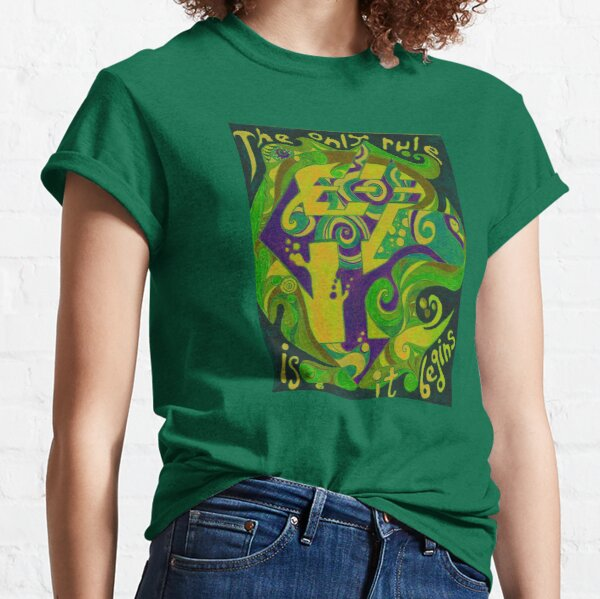 Backwards Down the Number Line - Design 2 Classic T-Shirt