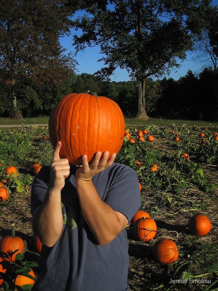 The Great Pumpkin Head by Jennie Smolow