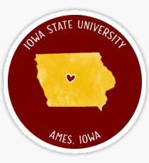 Iowa State University - Style 3 Sticker