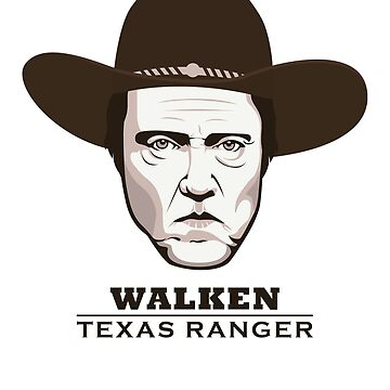 "Christopher Walken is ""Walken: Texas Ranger"" by FacesOfAwesome"