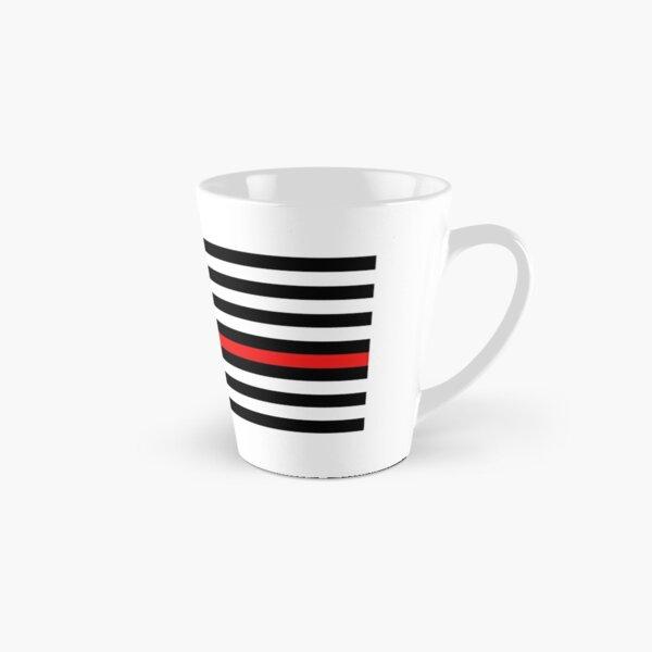 Firefighter: Black Flag & Red Line Tall Mug