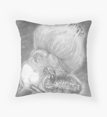 Breathing is Commutation. Throw Pillow