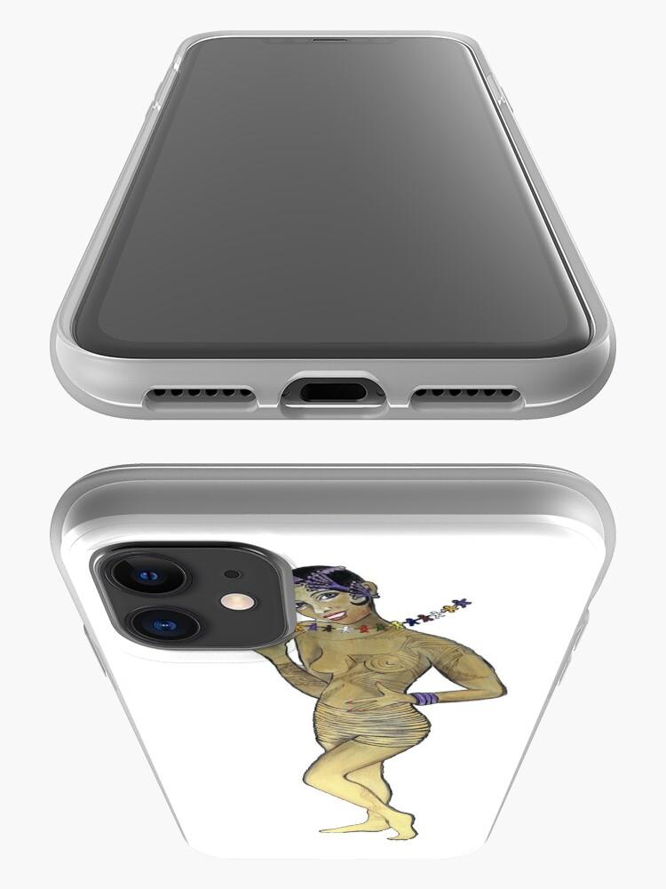 Alternate view of Josephine Baker Rainbow Tribe iPhone Case & Cover