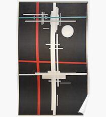 Ilya Chashnik - Suprematist Composition (1923) Poster