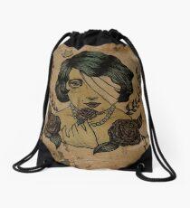 One-Eyed Myra Drawstring Bag