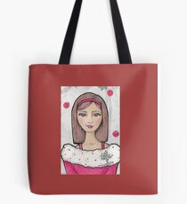 Teen Scene - Snow Girl Tote Bag