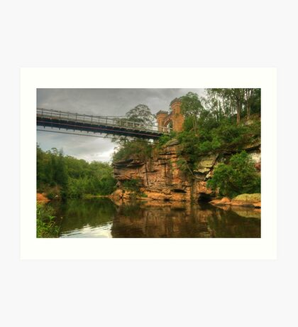 Reflections In The Valley Of The Kangaroo Art Print