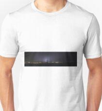 Lightning Over Victor Harbor - Panaroma Unisex T-Shirt