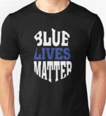 Blue Lives Matter - Thin Blue Line Unisex T-Shirt