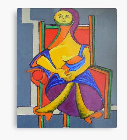 My Apologies to Picasso Metal Print