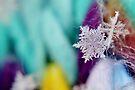Snowflake & Scarf XIV by Kathleen Daley