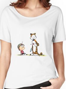 Calvin and Hobbes - Dart Gun  Women's Relaxed Fit T-Shirt