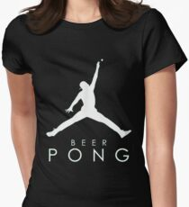 Beer Pong T Shirt Womens Fitted T-Shirt