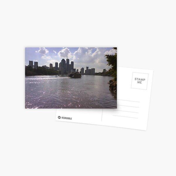 Brisbane from Kangaroo Point Postcard