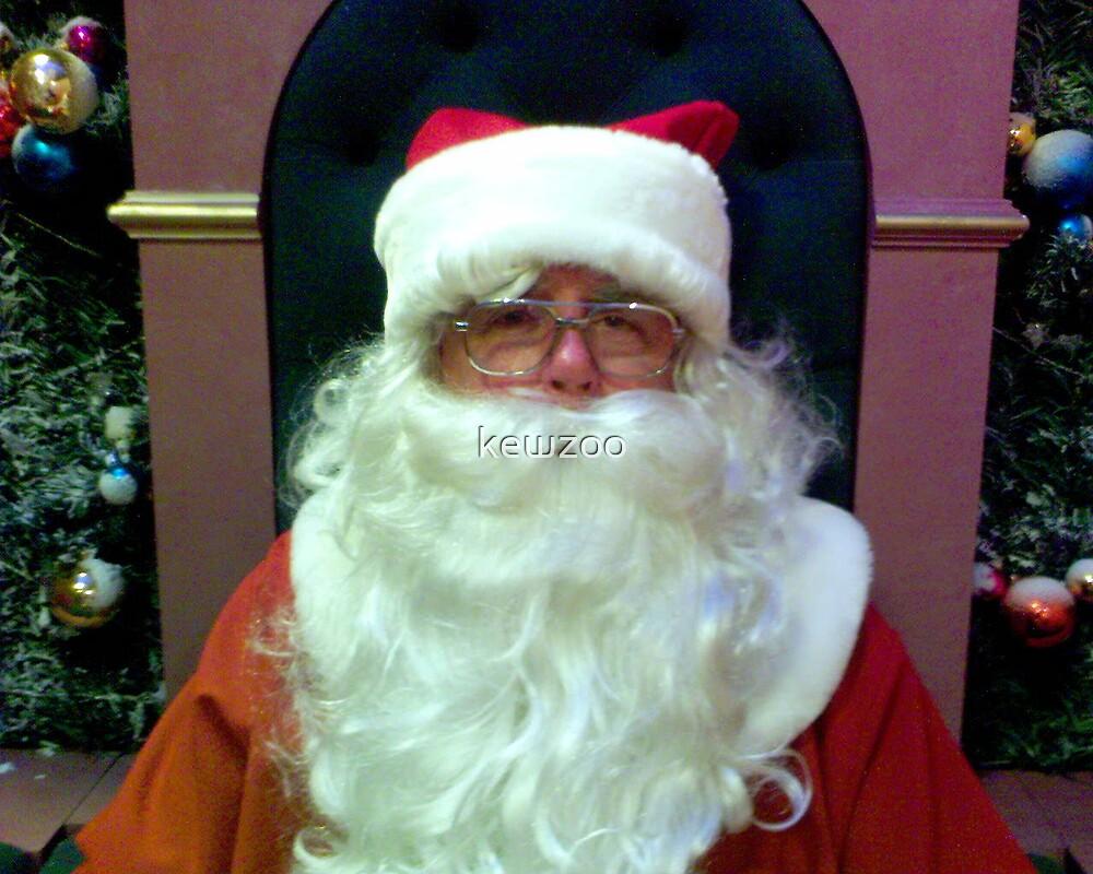 My Dad as Santa by kewzoo