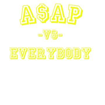 A$AP vs Everybody by ArtBae