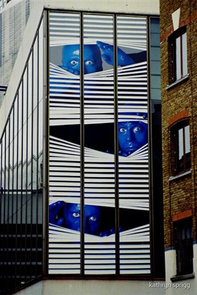 blue man by kathryn sprigg