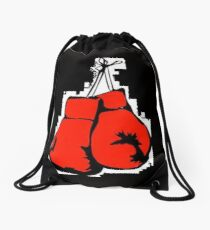 Boxing Gloves Drawstring Bag