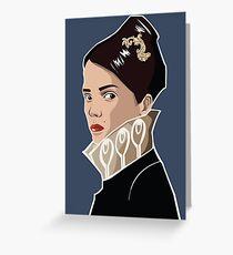 Empress Jessamine Kaldwin - Dishonored Greeting Card