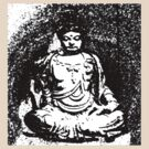 Buddha of Compassion 3 - Design 1 by Kevin J Cooper