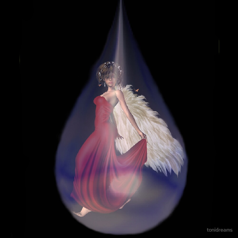 Angel in a Tear by tonidreams