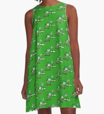 Mega Link A-Line Dress