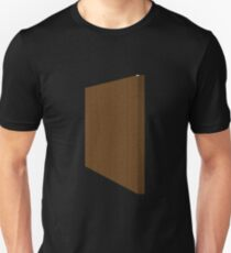 Glitch Original Homes wallpaper end boghouse brown T-Shirt