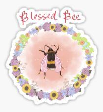 Blessed Bee Sticker