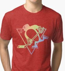 Pittsburgh Penguins Pride  Tri-blend T-Shirt