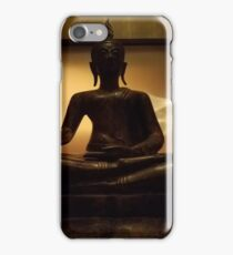 sitting budda iPhone Case/Skin