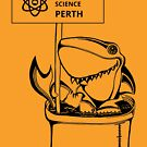 March for Science Perth – Shark, black by sciencemarchau