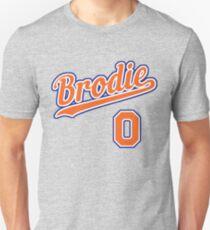 Brodie retro Script 7 Unisex T-Shirt