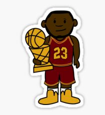 Lebron James Cartoon Sticker