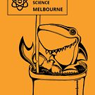 March for Science Melbourne – Shark, black by sciencemarchau