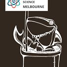March for Science Melbourne – Shark, white by sciencemarchau