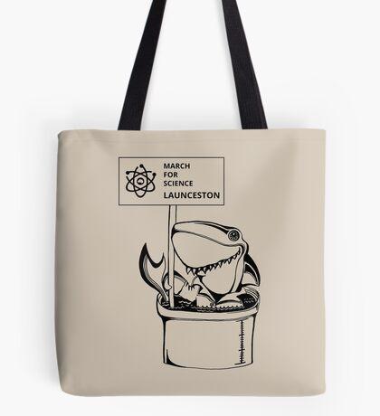 March for Science  Launceston – Shark, black Tote Bag