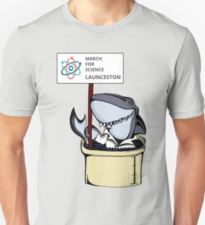 March for Science Launceston – Shark, full color T-Shirt