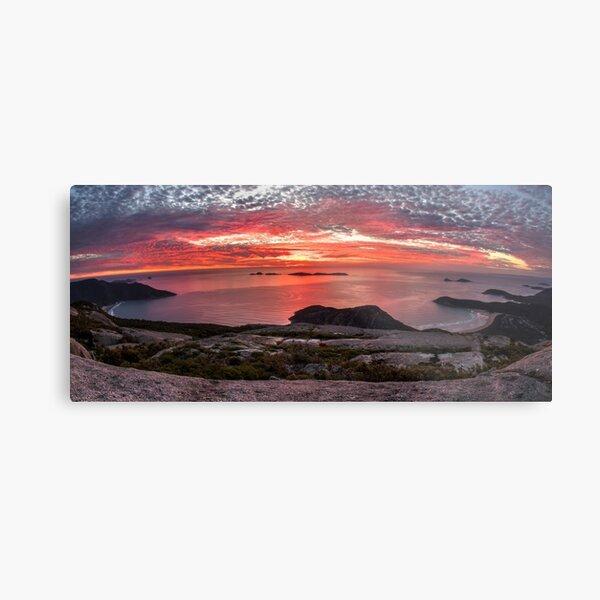 Mt Oberon Sunset Metal Print