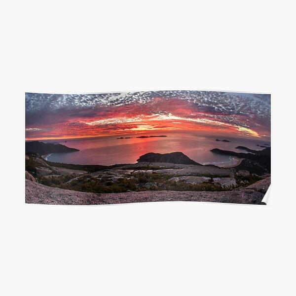 Mt Oberon Sunset Poster
