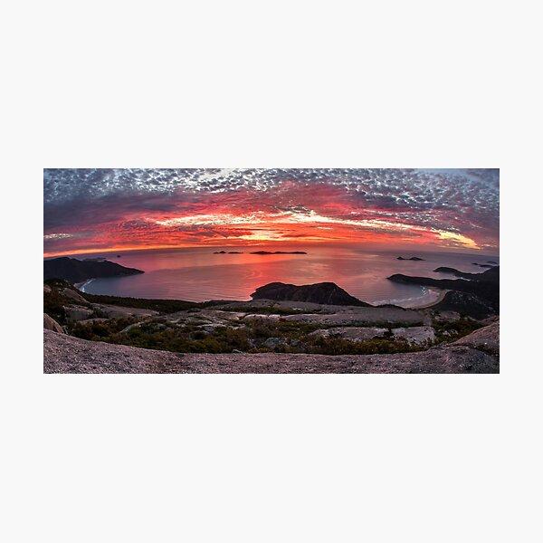 Mt Oberon Sunset Photographic Print
